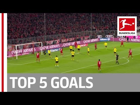 Lewandowski, Bellarabi, Hennings & More – Top 5 Goals on Matchday 11