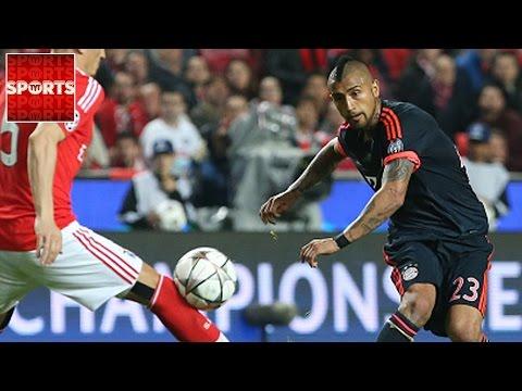 BENFICA 2-2 BAYERN MUNICH (AGG. 2-3) | Goals: Vidal, Muller, Jimenez, Talisca