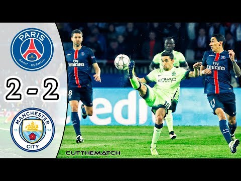 PSG vs Manchester City 2-2 | All Goals & Highlights | UCL Quarter-final 2015/16