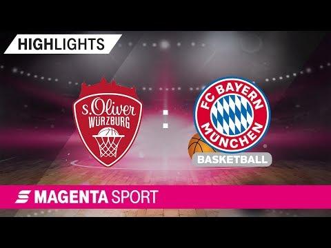 s.Oliver Würzburg – FC Bayern Basketball | 5. Spieltag, 19/20 | MAGENTA SPORT