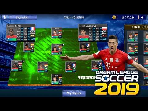 How to team F.C Bayern 2019-2020 Dream league soccer