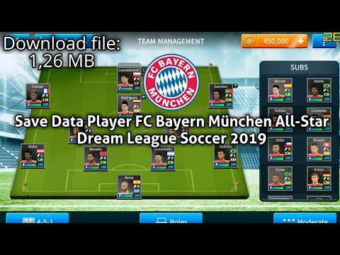 Save Data Player FC Bayern München All-Star | Dream League Soccer 2019