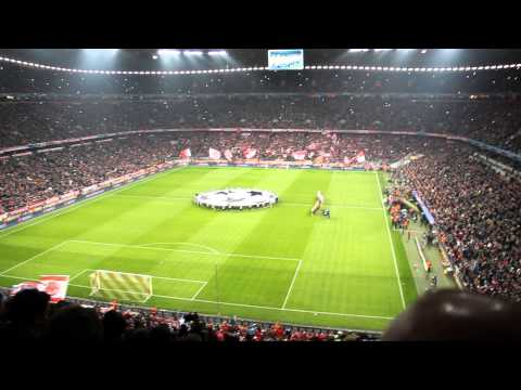FC Bayern München – Arsenal Champions League theme song 2014. 03. 11.