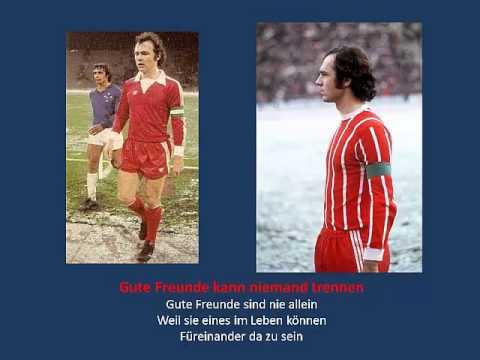 FC Bayern Gute Freunde kann niemand trennen (with lyrics)