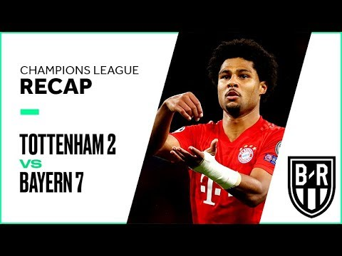 Tottenham 2-7 Bayern Munich: Champions League Group B Recap with Goals and Best Moments
