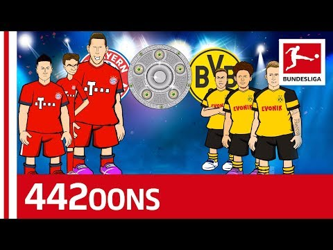 The Bundesliga Title Race Song Bayern München vs. Borussia Dortmund – Powered by 442oons
