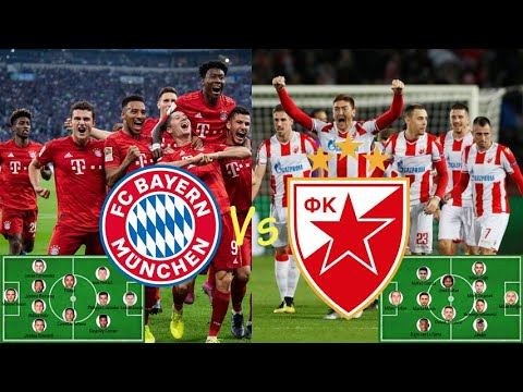 FC Bayern Munchen Vs Red Star Belgrade  Probable Lineup for   UEFA Champions League 18092019