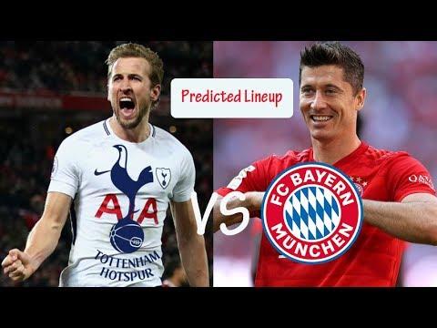 Predicted Lineup: Tottenham Hotspur Vs Bayern Munchen for UEFA Champions League 02/10/2019
