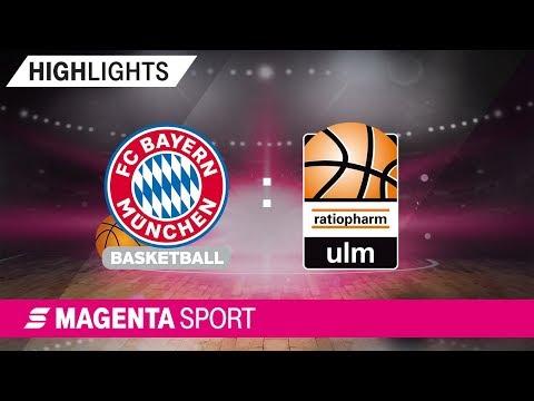 FC Bayern Basketball – ratiopharm ulm | 10. Spieltag, 19/20 | MAGENTA SPORT