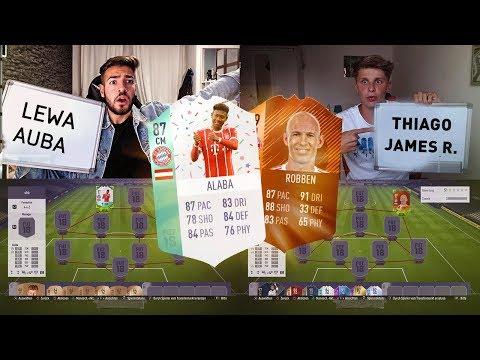 FIFA 18: BAYERN vs DORTMUND Squad Builder Battle 😈😱 vs Fifagaming 🔥 Wakez