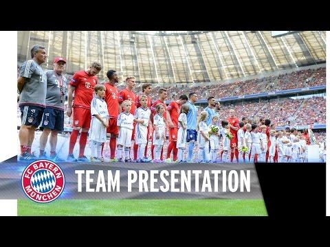 Allianz FC Bayern Team Presentation