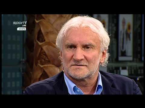 FC Bayern München: Der ewige Meister ? Rudi Völler bei Volkswagen Doppelpass am 16.08.2015