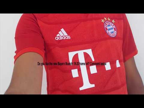 Gogoalshop.co 19-20 Bayern Munich Home Red Jerseys Shirt Unboxing Review