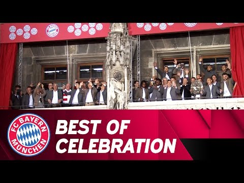 Best of FC Bayern Championship Celebrations 2017