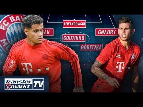 Nach Coutinho-Transfer: So könnte der FC Bayern spielen | TRANSFERMARKT