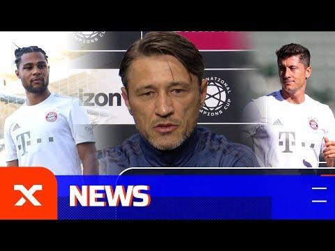 Niko Kovac zu Robert Lewandowski, Serge Gnabry und der Konkurrenz | FC Bayern München | SPOX