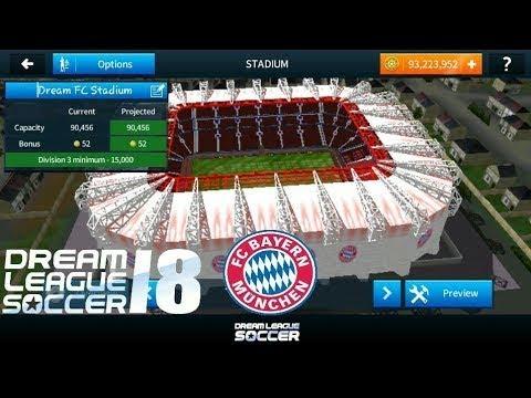 Hướng dẫn mod sân vận động (FC BAYERN MUNCHEN STADIUM) trong DREAM LEAGUE SOCCER 2018.