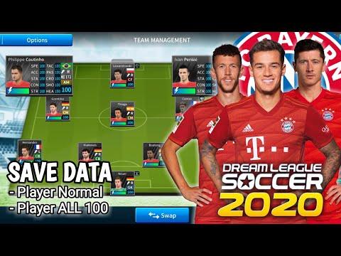 Save Data FC Bayern Munchen Team Dream League Soccer 2019/2020 || Update Transfer Pemain
