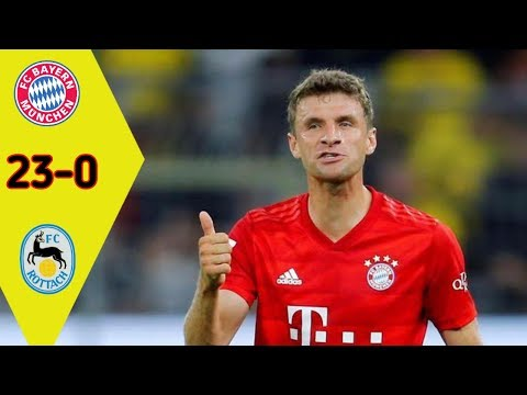 5X HATRICK!!! Highlights Bayern vs FC Rottach-Egern 23 – 0