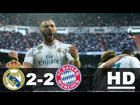 Real Madrid vs Bayern Munchen 2-2 All Goals & Highlights 2 Mei 2018