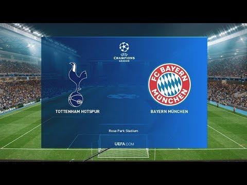 Tottenham vs Bayern Munich – UEFA Champions League | PES 2020