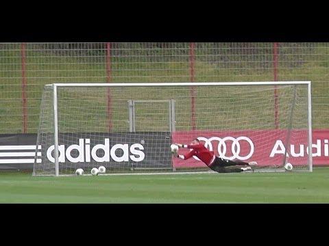 Raif Husic – FC Bayern Munich Goalkeeper skills