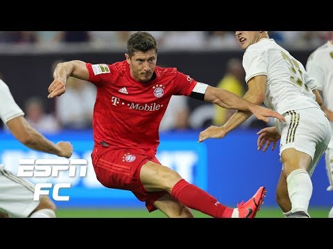 Robert Lewandowski scores in Bayern Munich win vs. Real Madrid | International Champions Cup