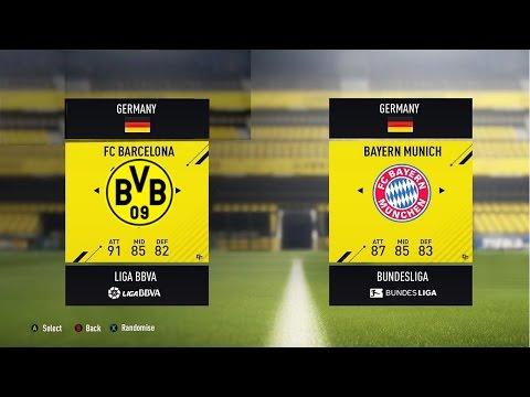 FIFA 17 FULL DEMO GAMEPLAY – BAYERN MUNCHEN vs BVB – Gamescom 2016 HD