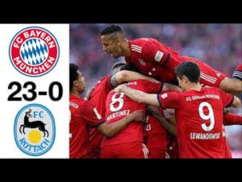 Bayern Munchen 23 vs 0 Rottach egern full Highlight