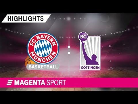 FC Bayern München – BG Göttingen | 11. Spieltag, 19/20 | MAGENTA SPORT