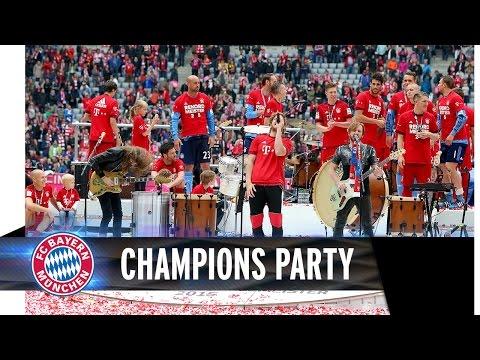 FC Bayern feiert mit Imagine Dragons