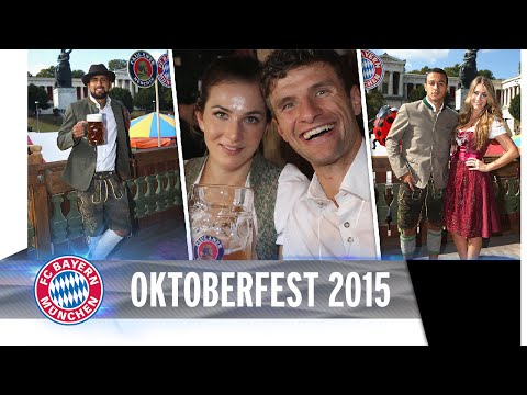 FC Bayern @ Oktoberfest 2015