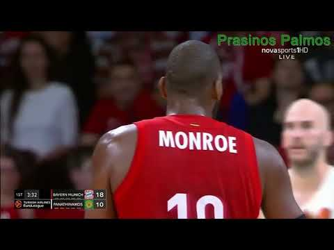 Panathinaikos vs Bayern Munich | EuroLeague Game 10 | 11/22/19