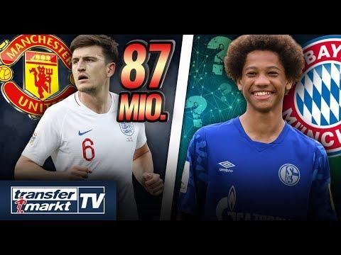 Maguire jetzt teuerster Verteidiger – Bayern will kleinen Sané-Bruder | TRANSFERMARKT