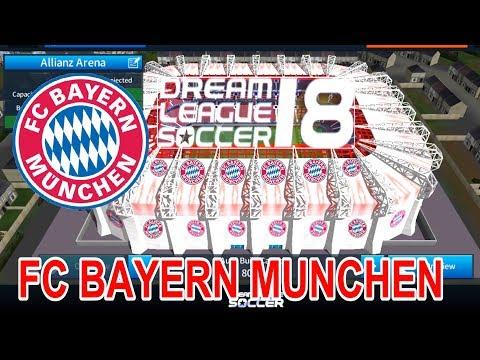 FC Bayern Munchen – Change Stadium, ដូរស្តាតថ្មី – dream league soccer 2018, ដូច្នឹងផង