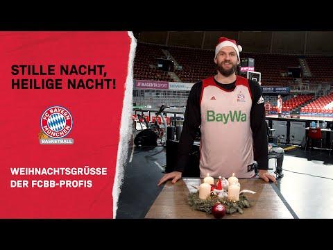 Stille Nacht, heilige Nacht! Der FC Bayern Basketball singt und wünscht Frohe Weihnachten!