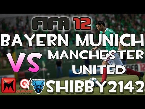 "FIFA 12 Bayern München vs. Manchester United Gameplay ""CPU IS LEGENDARY!"" Live Commentary"