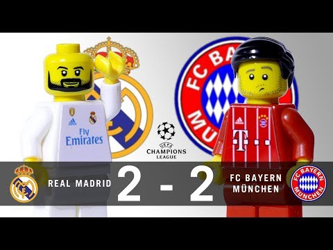 LEGO Real Madrid 2 – 2 FC Bayern München Champions League 2017 / 2018