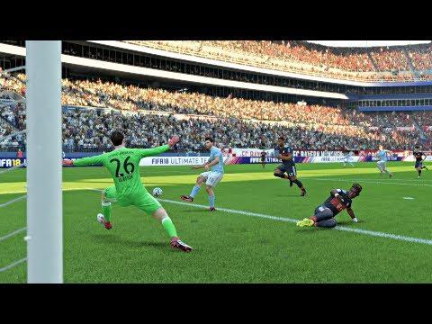 International Champions Cup 2018 Bayern vs Manchester City Full Match Sim (FIFA 18)
