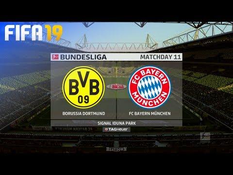 FIFA 19 – Borussia Dortmund vs. FC Bayern München @ Signal Iduna Park