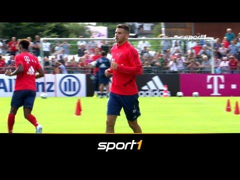 Hier trainiert 80-Millionen-Mann Hernandez erstmals mit den Bayern | SPORT1