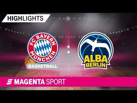 FC Bayern Basketball – ALBA Berlin | 7. Spieltag, 19/20 | MAGENTA SPORT