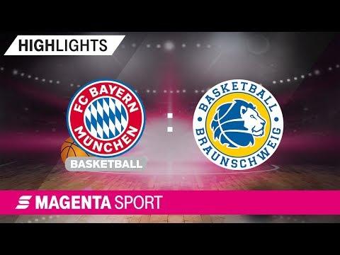 FC Bayern Basketball – Basketball Löwen Braunschweig | 3. Spieltag, 19/20 | MAGENTA SPORT