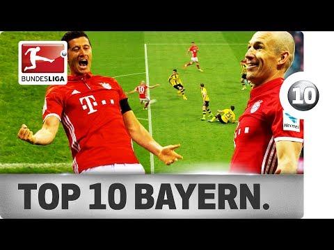 Top 10 Goals – Bayern München – Season 2016/17