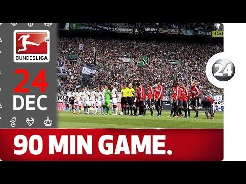 Full Bundesliga Match: Gladbach vs. Bayern – Bundesliga 2016 Advent Calendar 24