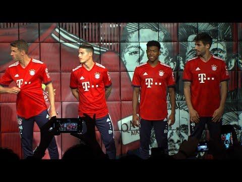 Neues Trikot: FC Bayern präsentiert sich weiter in Rot