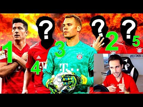 MEINE TOP 5 FC BAYERN SPIELER 🔝🔥 Fußball Q&A + Gewinnspiel ❤️ Danke PES 2020