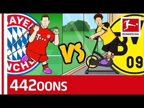 Der Klassiker: FC Bayern München vs. Borussia Dortmund – Powered by 442oons