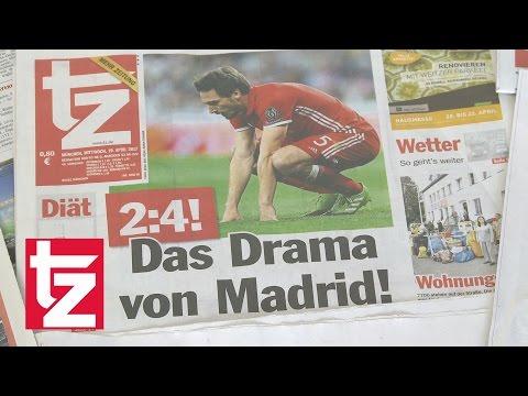 """""""Das Drama von Madrid"""" – Der FC Bayern scheidet im CL-Viertelfinale aus (Pressestimmen)"""