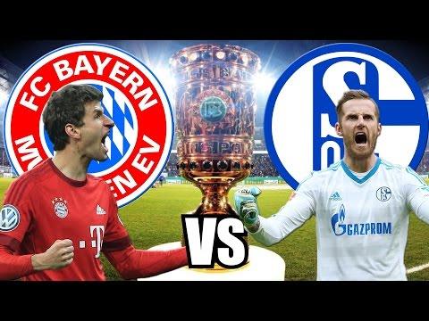 FC BAYERN MÜNCHEN vs SCHALKE 04 DFB POKAL ORAKEL 01.03.2017 3:0